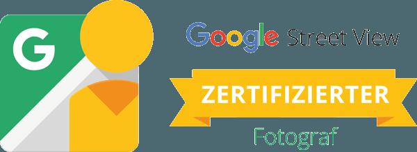 Google Street View Logo quer Sebastian Fiebak