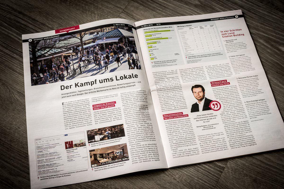 Interview: Internet World Business