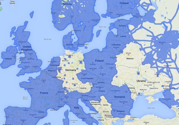 Google Street View in Deutschland