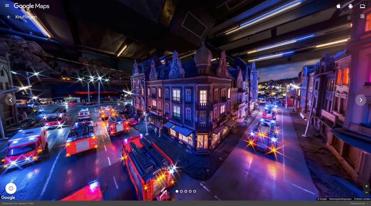 Hamburger Miniaturwunderland: Jetzt mit Google Street View entdecken