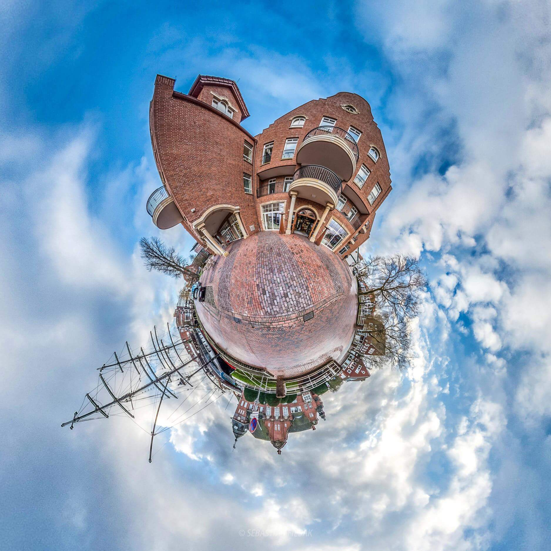 Arkadenhaus little planet