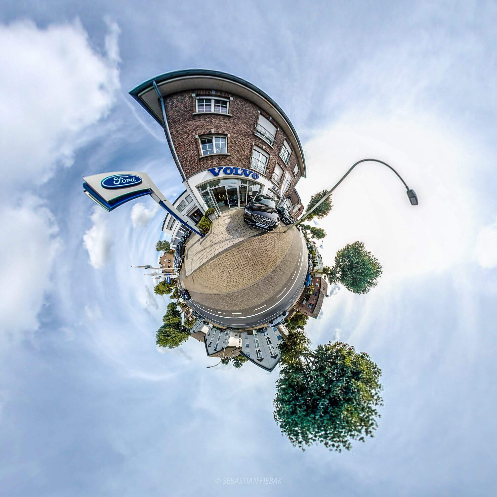 volvo Panorama sphere Panorama