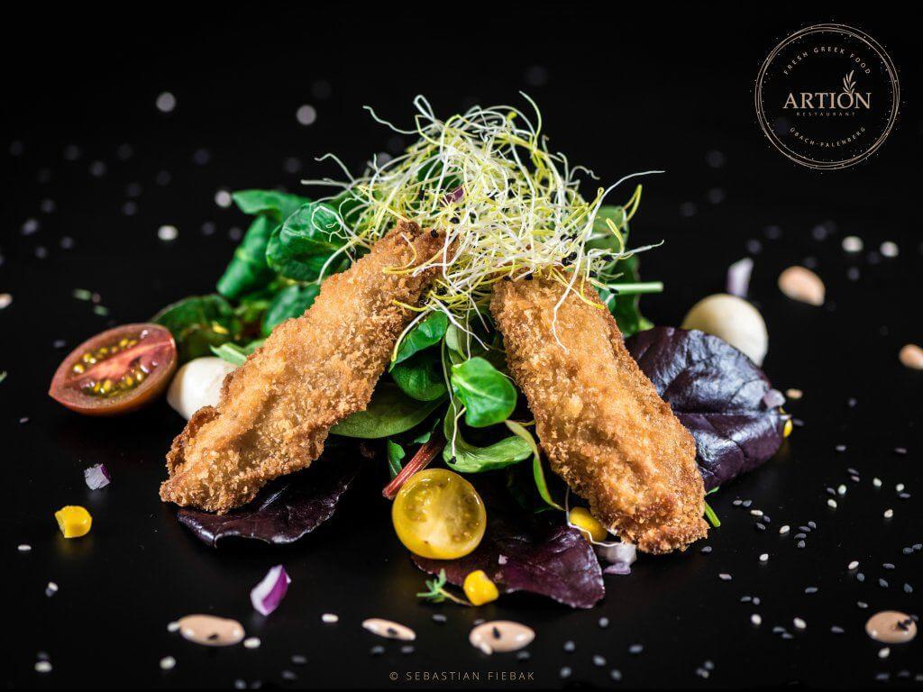Haehnchenbrust Salat 1