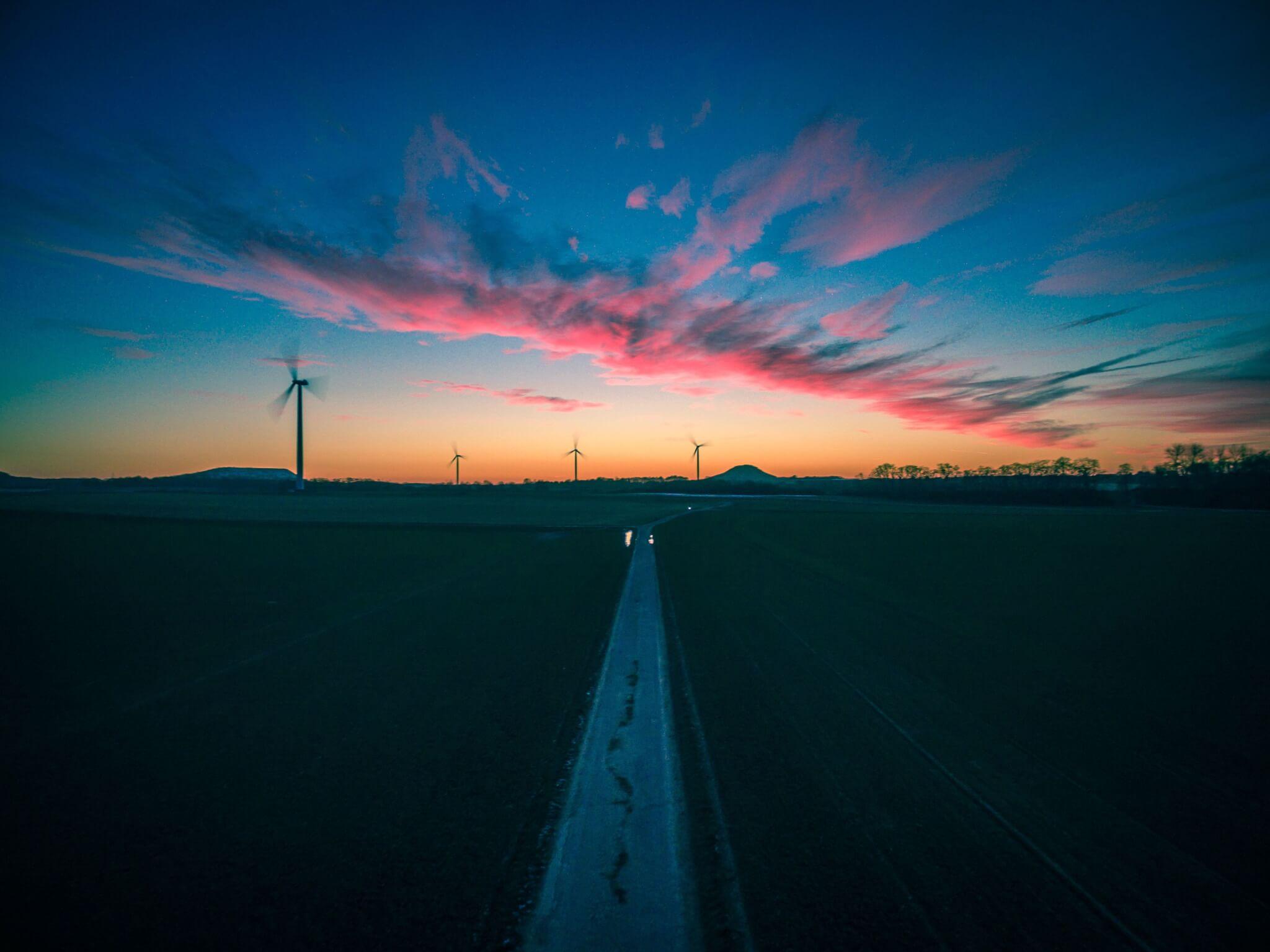 Sonnenuntergang Baesweiler