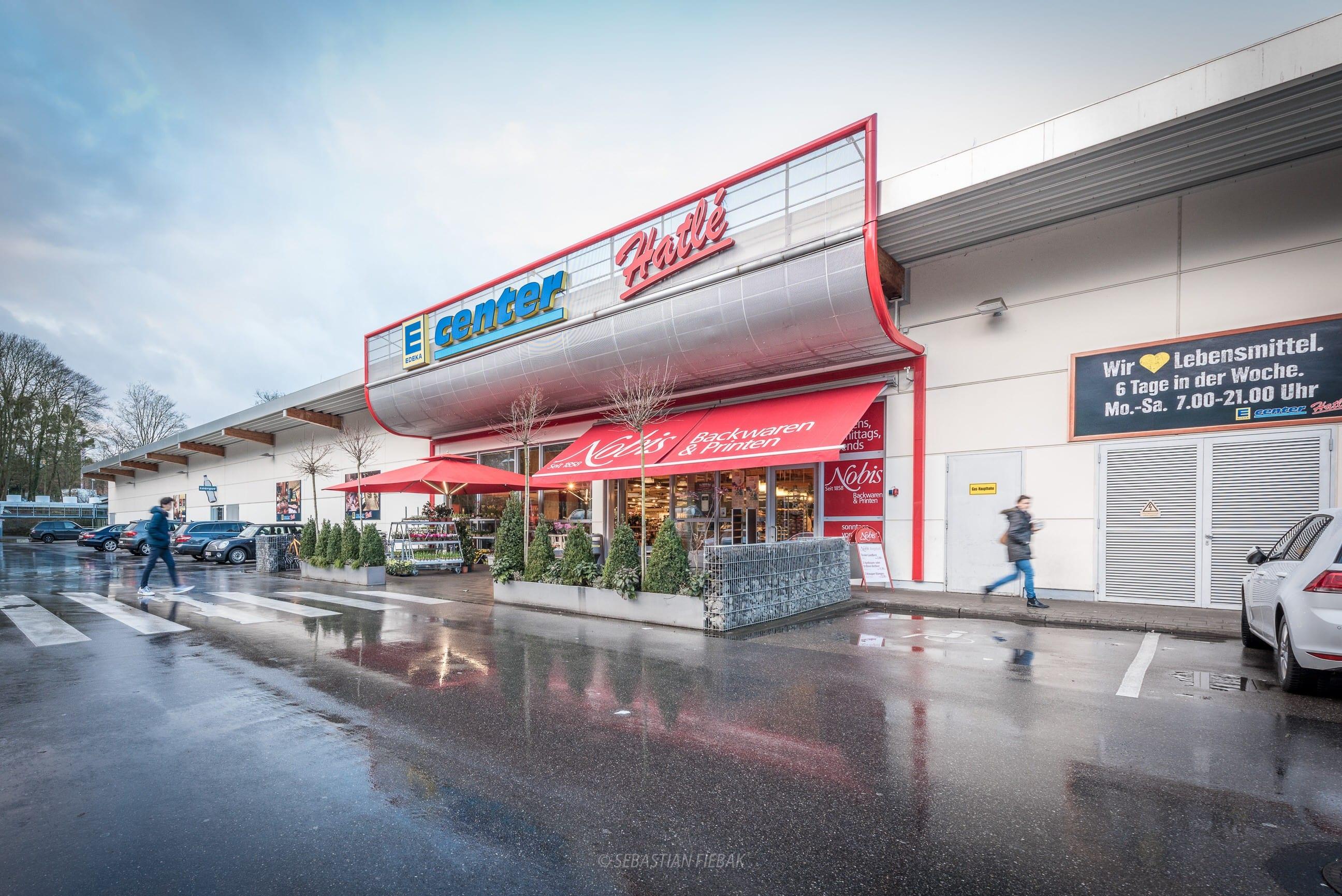Google Street View für Edeka Supermärkte