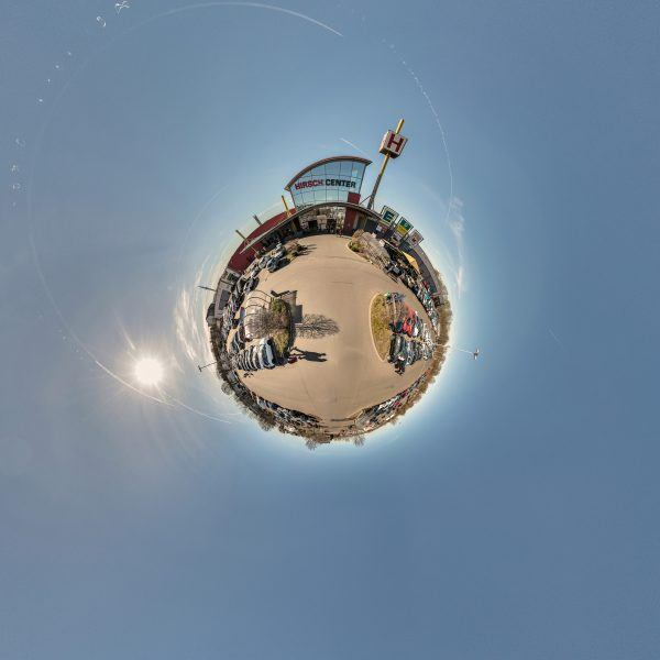 Hirsch Center 360 little planet 2