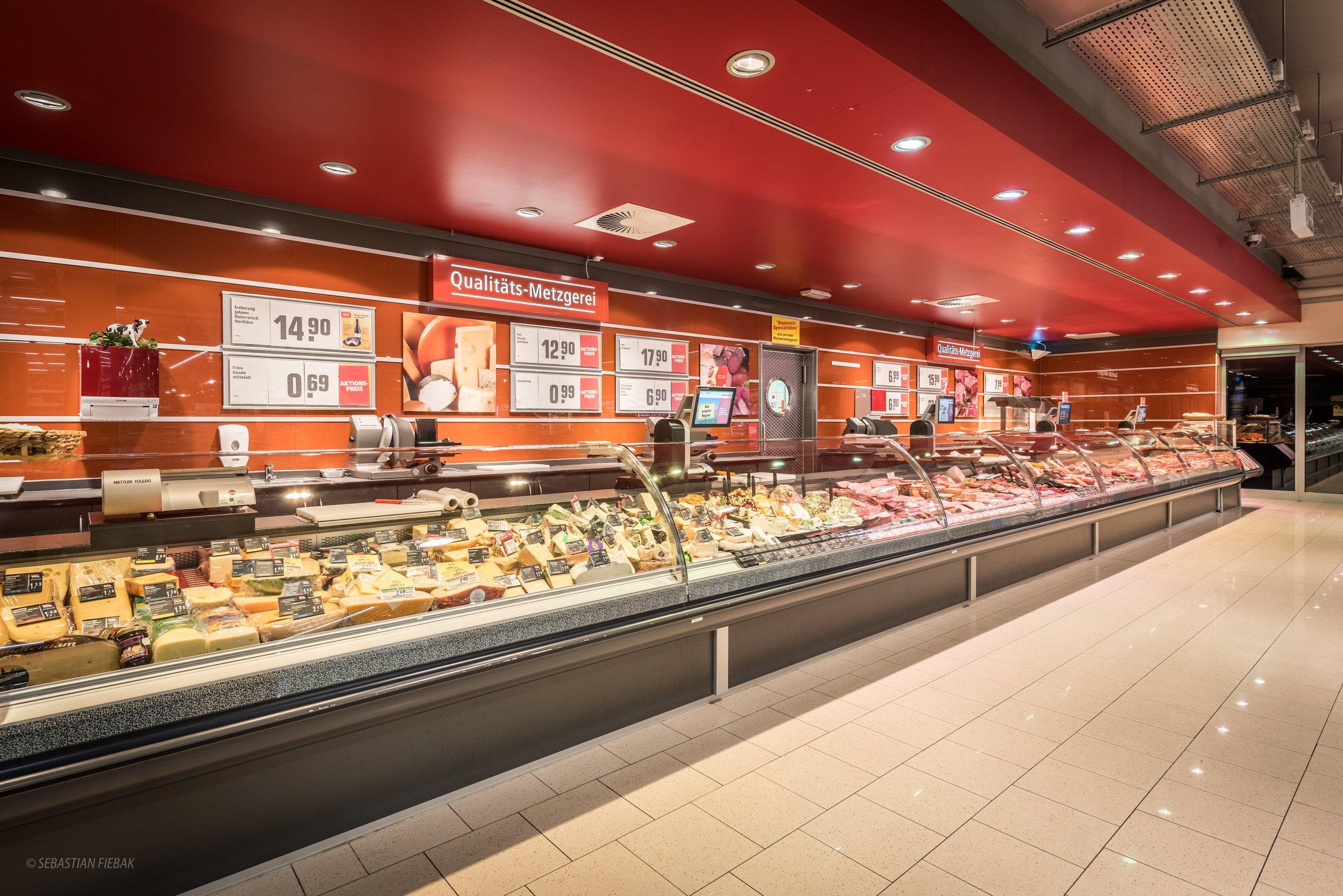 rewe fotografie supermarkt